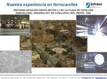 REFORMA ESTACIÓN RENFE-METRO L1 DE LA PLAZA DE CATALUÑA (BARCELONA). GENERALITAT DE CATALUNYA,1983