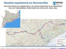 ESTUDIO PREVIO DE CORREDORES Y DE CARACTERIZACIÓN DE ALTERNATIVAS DEL EJE TRANSVERSAL FERROVIARIO DE CATALUNYA