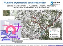 ESTUDIO DE VIABILIDAD DE LA PLATAFORMA LOGÍSTICA INTERMODAL DE SANT GUIM DE FREIXENET