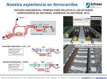 ESTUDIO ARGUMENTAL PRIMERA FASE RELATIVO A LOS ACCESOS  FERROVIARIOS DE ASTURIAS