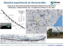 LÍNEA ALTA VELOCIDAD MADRID-ZARAGOZA-BARCELONA-FRONTERA FRANCESA, TRAMO PAPIOL-STA. COLOMA DE CERVELLÓ