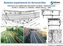 PROYECTO DE COBERTURA VÍAS RENFE GLÒRIES – MERIDIANA SUR. ENTRE C/ TÁNGER Y C/ ZAMORA