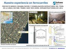PROYECTO BÁSICO. REHABILITACIÓN Y CONSOLIDACIÓN ESTRUCTURAL DEL TÚNEL  DE LA LÍNEA 2 DE FMB. TRAMO: SANT ROC-GORG