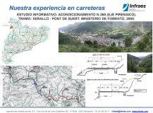 Estudio informativo. Acondicionamiento N-260 (Eje pirenaico), tramo: Xerallo-Pont de Suert