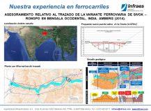 ASESORAMIENTO RELATIVO AL TRAZADO DE LA VARIANTE FERROVIARIA DE SIVOK – RONGPO EN BENGALA OCCIDENTAL, INDIA