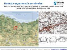 PROYECTO DE CONSTRUCCIÓN DE LA VARIANTE DE EIBAR, EN LA CARRETERA N-634