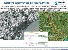 ESTUDIOS PREVIOS E INFORMATIVOS LÍNEA DE ALTA VELOCIDAD MADRID-ZARAGOZA-BARCELONA-FRONTERA FRANCESA EN LAS COMARCAS DE L'ANOIA, BAIX LLOBREGAT, BARCELONÈS, GIRONÈS Y EMPORDÀ