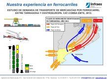 ESTUDIO DE DEMANDA DE TRANSPORTE DE MERCANCÍAS POR FERROCARRIL  ENTRE TARRAGONA Y CENTROEUROPA
