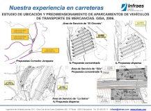 Estudio de ubicación y predimensionamiento de aparcamientos de vehículos de transporte de mercancías