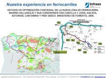 ESTUDIO DE OPTIMIZACIÓN FUNCIONAL DE LA NUEVA LÍNEA DE FERROCARRIL MADRID-VALLADOLID Y SUS CONEXIONES CON CASTILLA Y LEÓN, GALICIA, ASTURIAS, CANTABRIA Y PAÍS VASCO