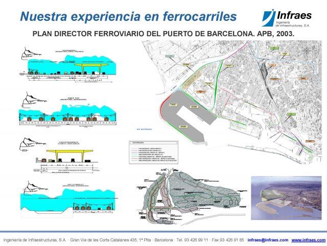 PLAN DIRECTOR FERROVIARIO DEL PUERTO DE BARCELONA