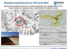 PROYECTO CONSTRUCTIVO DE LA NUEVA CONEXIÓN DEL FERROCARRIL EN EL NUDO DE MOLLET (BARCELONA)