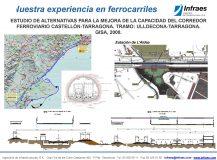 ESTUDIO DE ALTERNATIVAS PARA LA MEJORA DE LA CAPACIDAD DEL CORREDOR FERROVIARIO CASTELLÓN-TARRAGONA. TRAMO: ULLDECONA-TARRAGONA