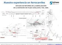 ESTUDIO DE REFORMA DE LA SEÑALIZACIÓN  DE LA ESTACIÓN DE PLAZA CATALUNYA