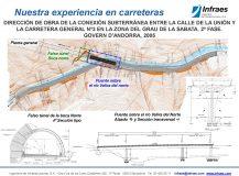 Dirección de Obra de la conexión subterránea entre la calle de la Unión y la Carretera General nº3 en la zona del Grau de la Sabata. 2ª fase